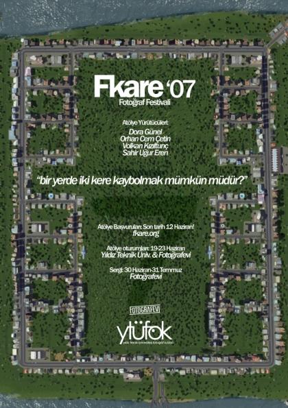 Fkare'07 Fotoğraf Festivali Afişi