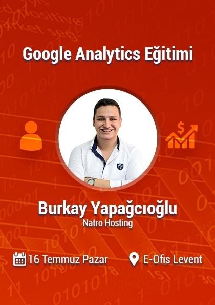 Uygulamalı Google Analytics Eğitimi Afişi