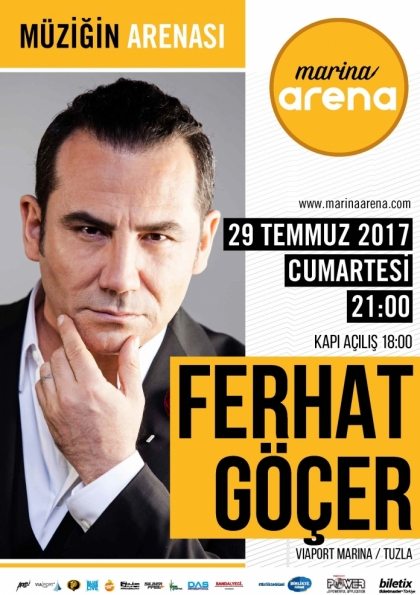 Ferhat Göçer Konseri - İstanbul Afişi