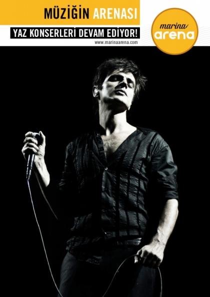 Teoman Konseri - İstanbul Etkinlik Afişi