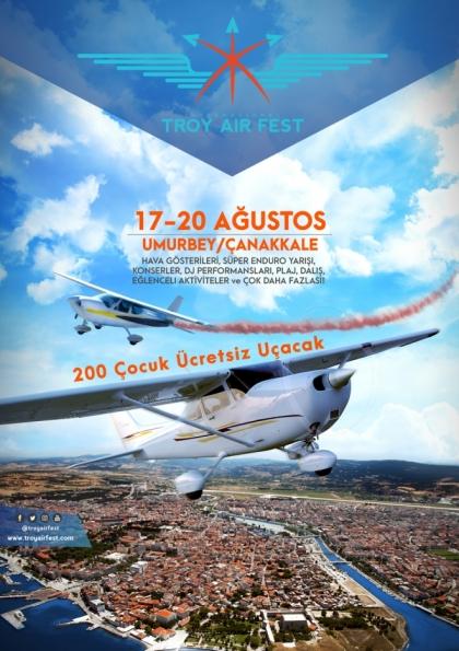 TROY AIR FEST / TROY HAVACILIK FESTİVALİ Afişi