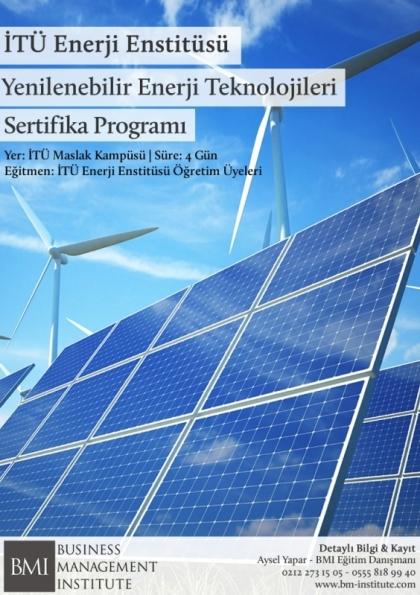 Yenilenebilir Enerji Teknolojileri