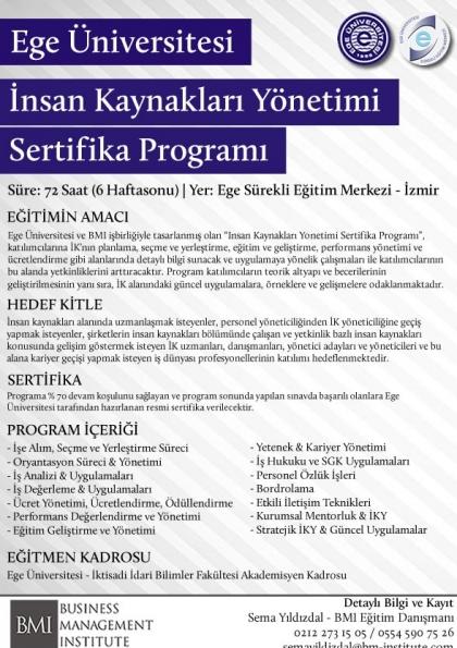 İnsan Kaynakları Yönetimi (EU) Afişi