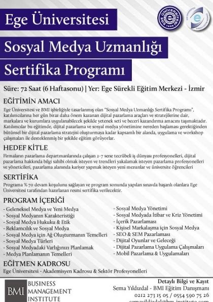 Sosyal Medya Uzmanlığı (EU)