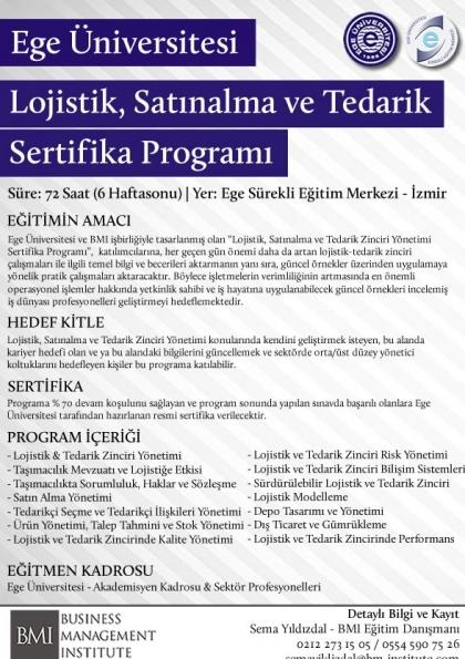 Lojistik, Satınalma ve Tedarik Zinciri Yönetimi (EU)