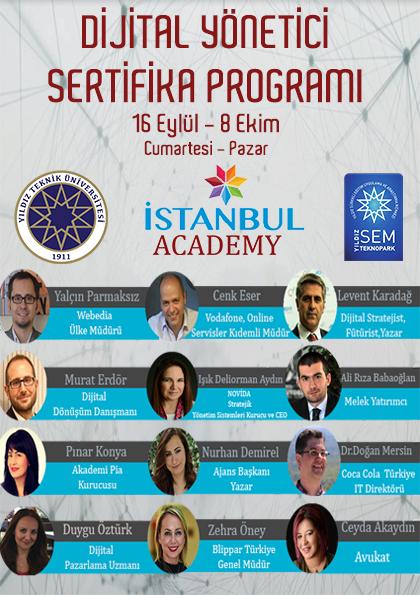 Dijital Yönetici Sertifika Programı - YTÜ SEM