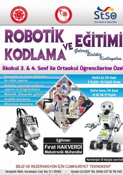 ROBOTİK VE KODLAMA EĞİTİMİ
