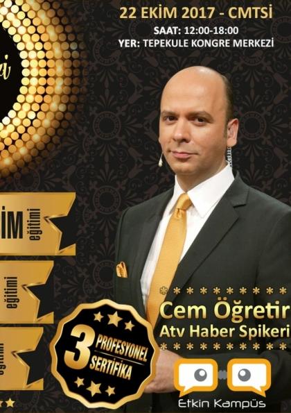 Cem Öğretir ilet 3 Sertifikalı İletişim Semineri İzmir