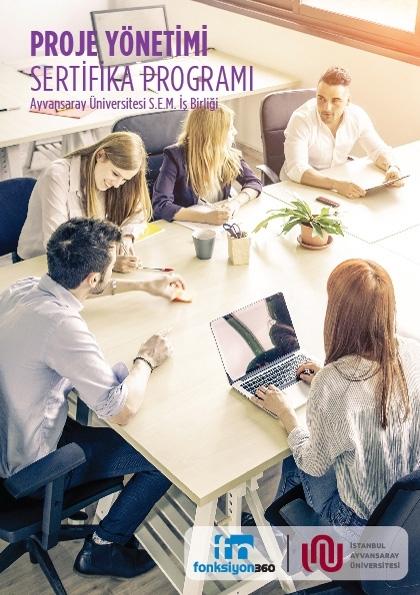 Proje Yönetimi Sertifika Programı Etkinlik Afişi