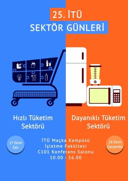25. İTÜ Sektör Günleri Etkinlik Afişi