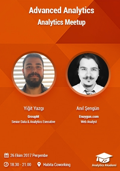Analytics Meetup | Advanced Analytics Afişi