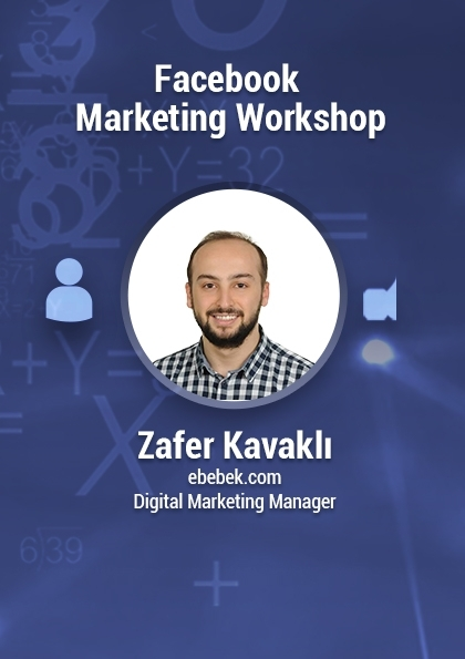 Facebook Marketing Workshop Etkinlik Afişi