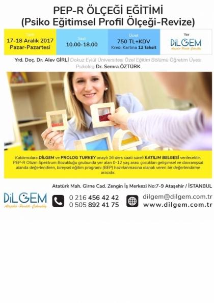 PEP-R (Psiko Eğitimsel Profil Ölçeği-Revize) ÖLÇEĞİ EĞİTİMİ Afişi