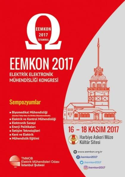 Elektrik Elektronik Mühendisliği Kongresi EEMKON 2017 Etkinlik Afişi
