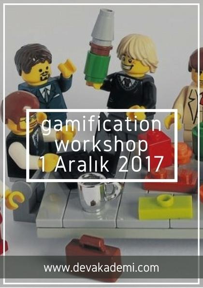 """Satış ve İK' de Oyunlaştırılmış Çözümler """"Gamification Workshop"""""""
