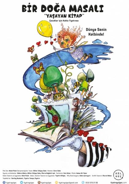 Bir Doğa Masalı Yaşayan Kitap Etkinlik Afişi