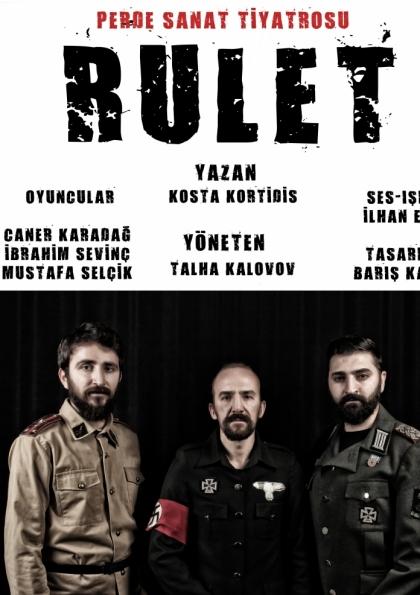 RULET - Tiyatro Oyunu Etkinlik Afişi