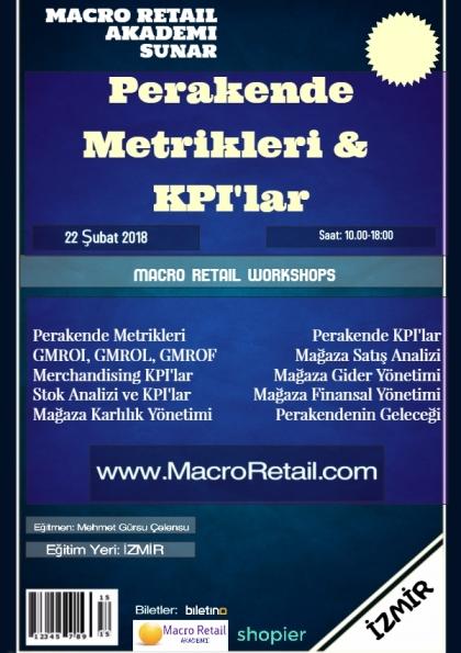 Perakende Metrikleri, Matematiği ve KPI'lar Eğitimi-İzmir