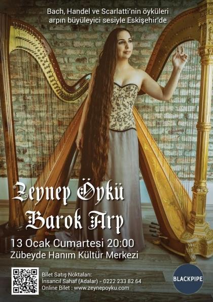 Zeynep Öykü - Barok Arp Etkinlik Afişi