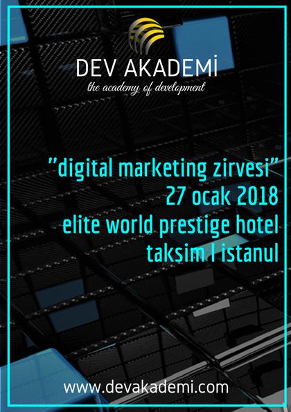 "DEV AKADEMİ ""Digital Marketing"" Zirvesi"