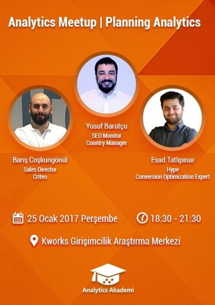 Analytics Meetup   Planning Analytics (Ücretsiz Etkinlik) Afişi