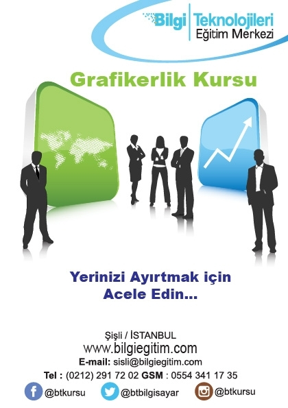 Piyasa Deneyimli Öğretmenlerle Grafik Tasarım Eğitimi Etkinlik Afişi