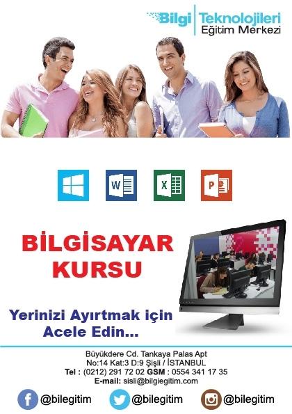 Meb Onaylı Sertifikalı Bilgisayar İşletmenliği Kursu Etkinlik Afişi