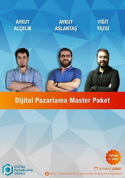 Dijital Pazarlama Master Eğitimi Etkinlik Afişi