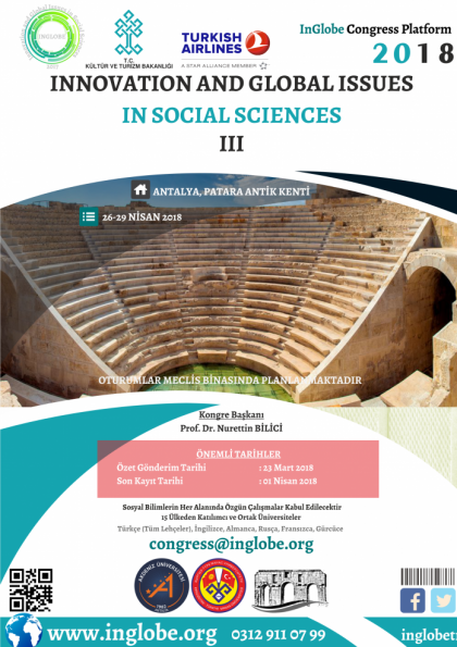 Innovation and Global Issues in Social Sciences III Afişi