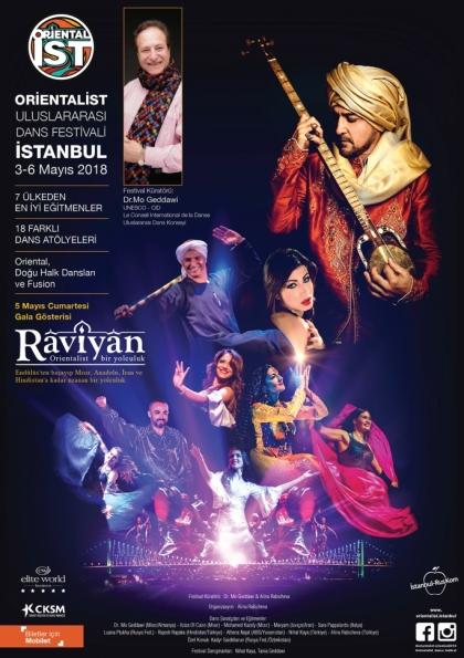 Raviyan Dans Gösterisi - Orientalist Dans Festivali