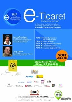 E-ticaret Konferansı 2012 Etkinlik Afişi