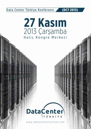 Data Center Türkiye Konferansı Etkinlik Afişi