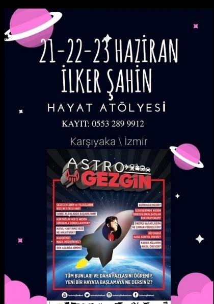 İLKER ŞAHİN - Astroloji Bakanı Afişi
