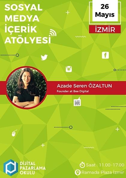 Sosyal Medya İçerik Atölyesi (İzmir)