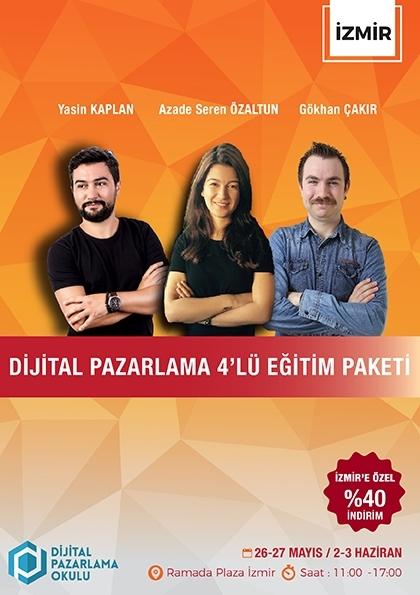 Dijital Pazarlama 4'lü Eğitim Paketi (İzmir)