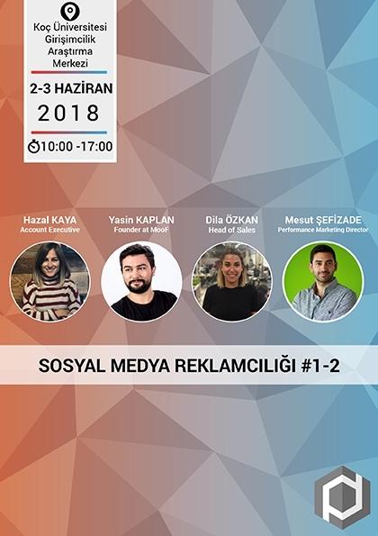 Sosyal Medya Reklamcılığı Master Eğitimi Etkinlik Afişi