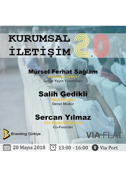 Kurumsal İletişimcilere Özel Kurumsal İletişim 2 Eğitimi (Ankara) Etkinlik Afişi