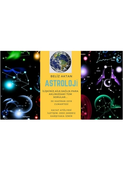 Beliz Aktan ile Astroloji Afişi