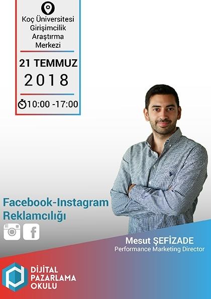 Facebook - Instagram Reklamcılığı Eğitimi Afişi