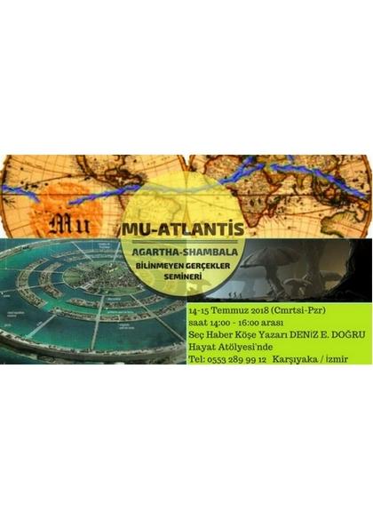 Mu Atlantis Agartha Shambala Semineri Etkinlik Afişi