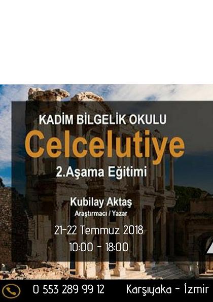 KUBİLAY AKTAŞ Celcelutiye 2.Aşama eğitimi Etkinlik Afişi