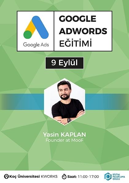 Google Ads Eğitimi Etkinlik Afişi