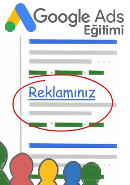 Google AdWords Eğitimi - SEO Destekli Etkinlik Afişi