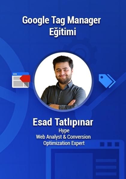 Google Tag Manager Eğitimi Etkinlik Afişi