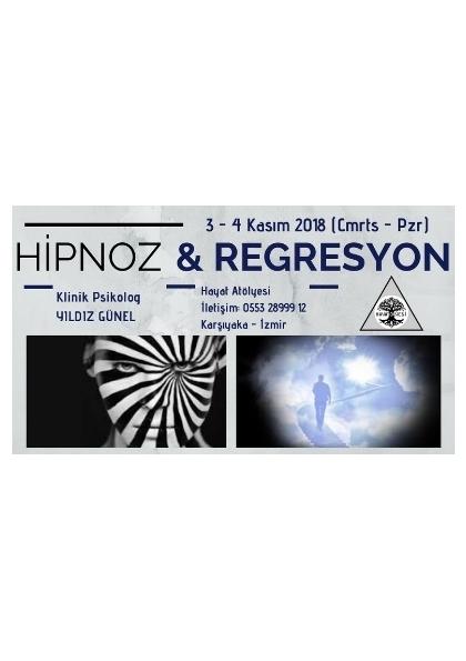 Hipnoz & Regresyon Eğitimi Etkinlik Afişi
