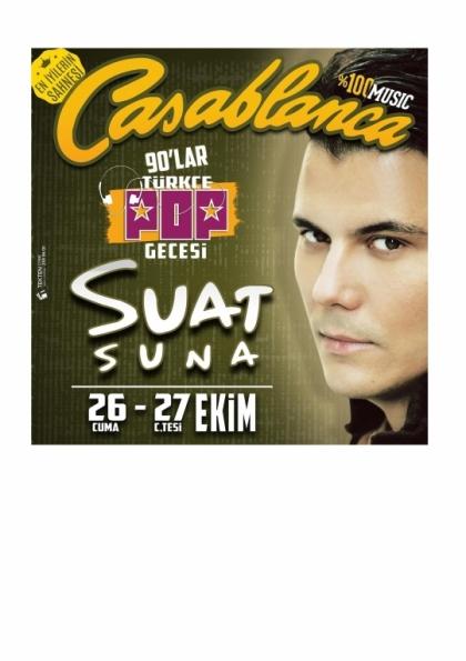 Suat Suna 90'lar Türkçe Pop Gecesi / Canlı Performans