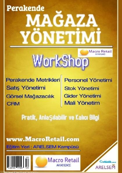 Yöneticiler için Modern Mağazacılık Yönetimi Afişi