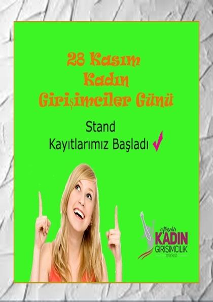 Ataşehir Kadın Girişimciler Günü Afişi