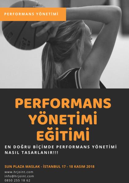 Performans Yönetimi Eğitimi Afişi