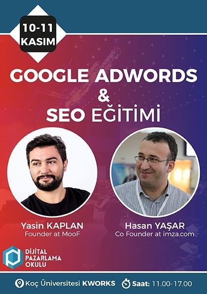 Google Ads & SEO Eğitimi Etkinlik Afişi